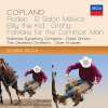 Aaron Copland (1900-1990): Billy the Kid - Ballettmusik, 2 CDs