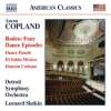 Aaron Copland (1900-1990): Dance Panels, CD
