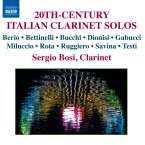 Sergio Bosi - 20th Century Italian Klarinet Solos, CD