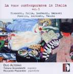 La voce contemporanea in Italia Vol.3, CD