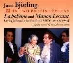 2 Puccini Opern mit Jussi Björling