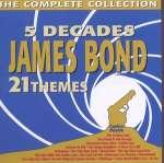 5 Decades James Bond - 21 Themes