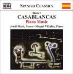 Benet Casablancas: Klavierwerke