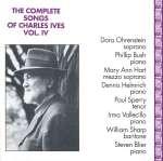 Charles Ives: Sämtliche Lieder Vol. 4