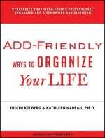 Add-Friendly Ways to Organize
