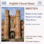 Benjamin Britten: Missa brevis