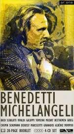 Andre-Francois Marescotti (1902-1995): Arturo Benedetti Michelangeli, Klavier