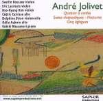 Andre Jolivet (1905-1974): Streichquartett
