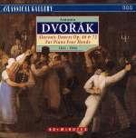 Antonin Dvorak (1841-1904): Slawische Tänze Nr. 1-16 für Klavier 4-händig (7)