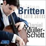 Benjamin Britten: Suiten für Cello solo Nr. 1-3 (opp. 72, 80, 87)