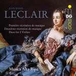 Recreations de Musique opp. 6 & 8 für 2 Violinen & Bc