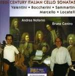 Andrea Noferini - 18th Century Italian Cello Sonatas