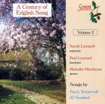 A Century of English Songs Vol. 2