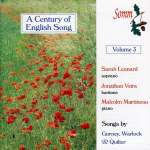 A Century of English Songs Vol. 3