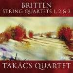 Benjamin Britten (1913-1976): Streichquartette Nr. 1-3 (2)