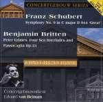 Benjamin Britten (1913-1976): Four Sea Interludes op. 33a