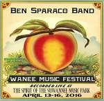 Ben Band Sparaco: Live At Wanee 2016