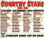 Country stars on cd -62tr