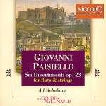 6 Divertimenti für Flöte & Streichtrio op. 23