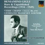 Benjamino Gigli - Rare & Unpublished Recordings 1934-1949