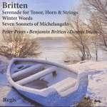 Benjamin Britten (1913-1976): Liederzyklen