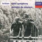 Benjamin Britten: Symphonie f. Cello & Orchester op. 68