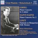 Benno Moiseiwitsch spielt Klavierkonzerte (1)