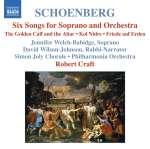 6 Lieder für Sopran & Orchester op. 8