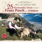 25 Harmonika-Duos mit Franz Posch und Schülern