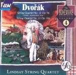 Anton Dvorak: Streichquartette Nr. 12 & 13