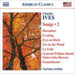 Charles Ives: Lieder Vol. 2