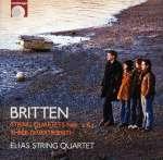 Benjamin Britten: Streichquartette Nr. 2 & 3 (4)
