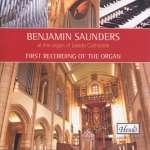 Benjamin Saunders an der Orgel Leeds Cathedral