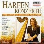 Andrea Vigh spielt Harfenkonzerte