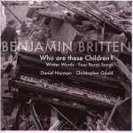 Benjamin Britten: Winter Words op. 52 (1)