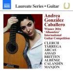 Andrea Gonzalez Caballero, Gitarre