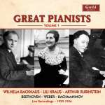 Great Pianists Vol. 1