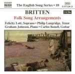 Benjamin Britten (1913-1976): Folk Song Arrangements (1)