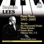 Benjamin Lees (1924-2010): Klavierwerke
