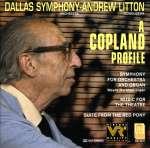 Aaron Copland (1900-1990): Symphonie für Orgel & Orchester