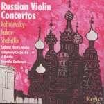 Andrew Hardy - Russian Violin Concertos