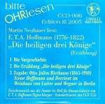 Bitte OHRlesen - Edition III 2005: E. T. A. Hoffmann