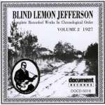 'Blind' Lemon Jefferson: Complete Recorded Works Vol. 2