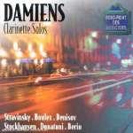 Alain Damiens - Clarinette Solos