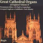 Great Cathedral Organs of England Vol. 2