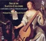 10 Concerts für 2 siebensaitige Gamben