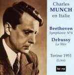 Charles Munch en Italie