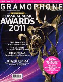 Gramophone - Awards 2011, Buch