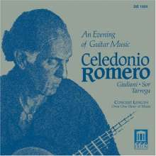 Celedonio Romero - An Evening of Guitar Music, CD
