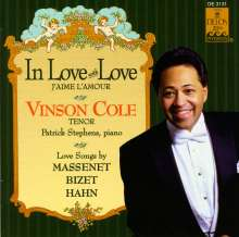 Vinson Cole - In Love with Love, CD